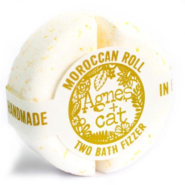 Agnes + Cat Bath Fizzer Fresh - Moroccan Roll