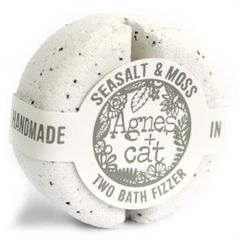Agnes + Cat Bath Fizzer Fresh - Seasalt and Moss
