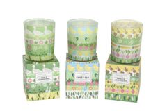 Spring Garden Boxed Candle - choose from 3