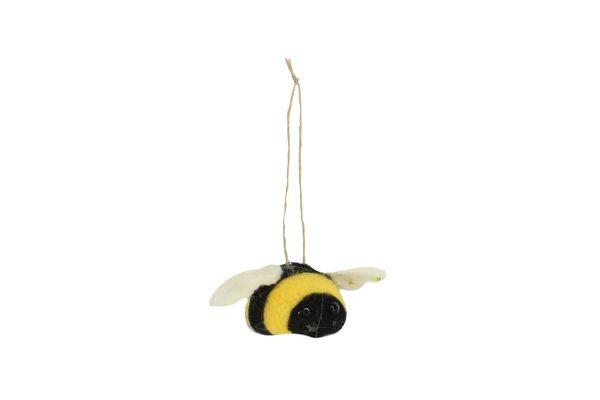 Hanging Felt Bee Decoration