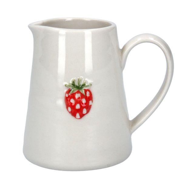 Ceramic Strawberry Small Jug