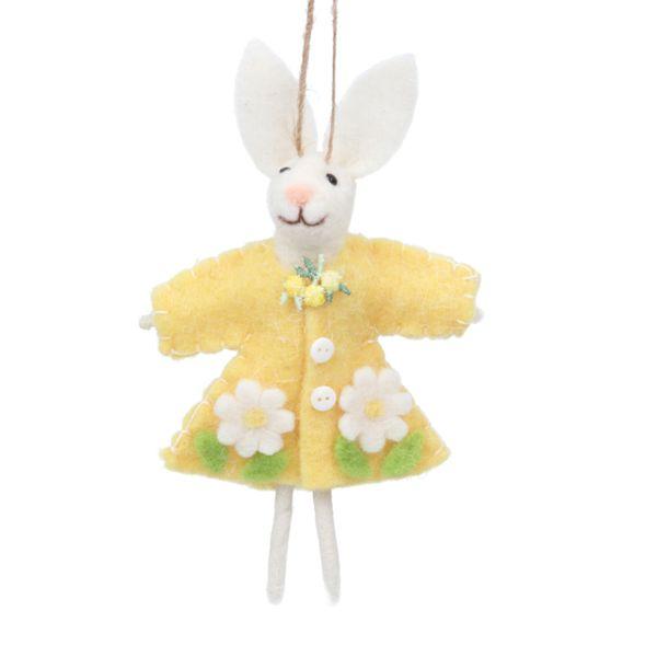 Hanging Felt Easter Bunny