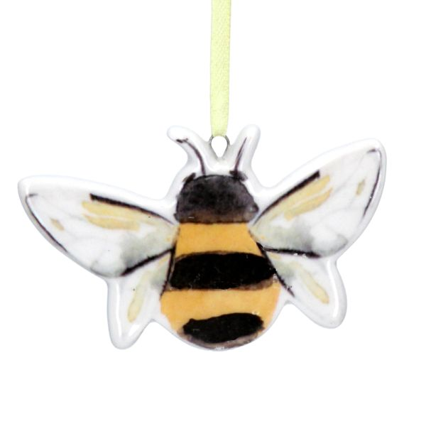 Bee Ceramic Decoration 4cm