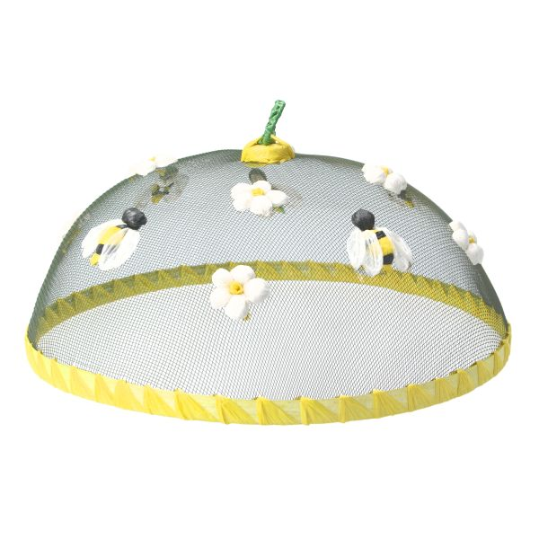 Bees & Flowers Food Cover 30cm
