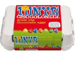 Tony's Chocolonely Chocolate Easter Eggs - 155g