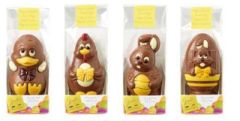 Decorated Easter Figures in a Bag (Duck, Chicken, Bunny, Egg) 55g - choose