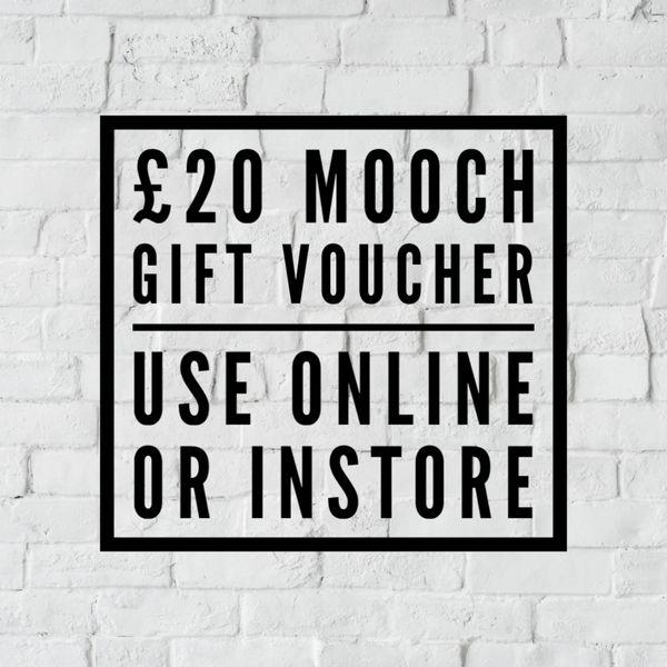 MOOCH GIFT VOUCHER £20.00