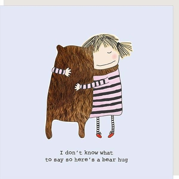 Bear Hug Card by Rosie made a thing