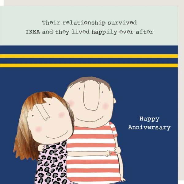 Ikea Anniversary Card by Rosie made a thing