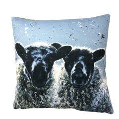 Barbara & Ann Luxury Cushion