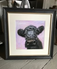 Maggie Framed Mounted Print