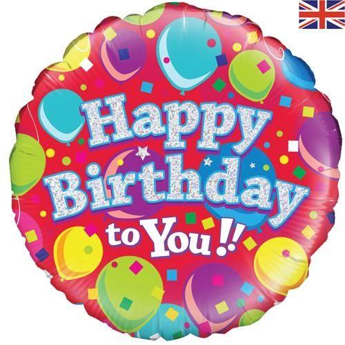 "Happy Birthday to You Balloon 18"""