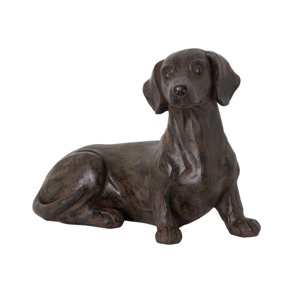Ernie The Sausage Dog Sitting Ornament