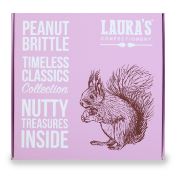Laura's Confectionery Peanut Brittle
