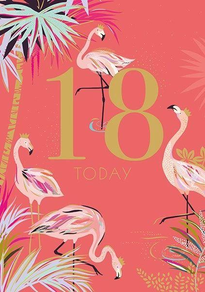 18th Card By Sarah Miller SAMA01