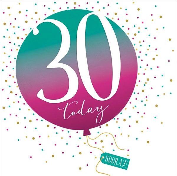 30th Pop Fizz Clink Card