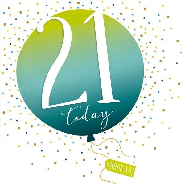 21st Pop Fizz Clink Card