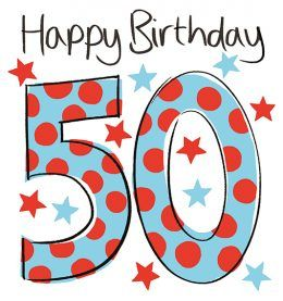 50th Birthday Spots