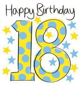 18th Birthday Spots ISH509