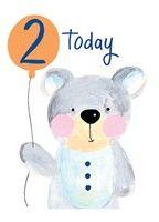 2 Bear card