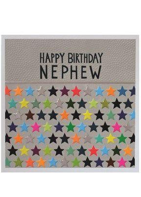 Happy Birthday Nephew Jumbo Card JJ1863