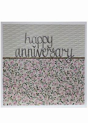 Happy Anniversary Jumbo Card JJ1816