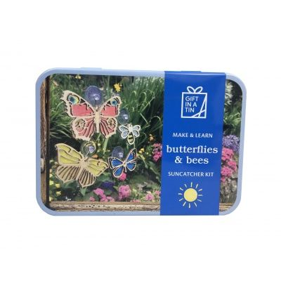 Butterflies & Bees Suncatcher Kit