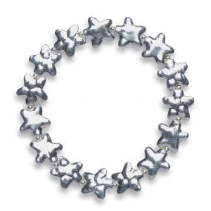 Bumpy star bracelet