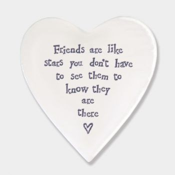 Friends are like Stars Ceramic Coaster