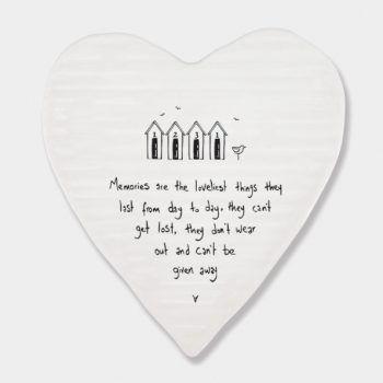 Memories are loveliest..... Ceramic Coaster