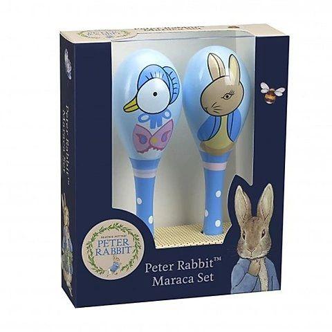Peter Rabbit & Jemima Puddle-Duck Maraca Set
