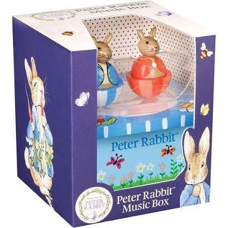 Peter Rabbit Wooden Music Box