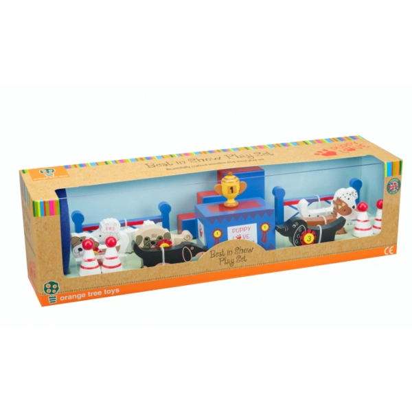 Best In show dog play set