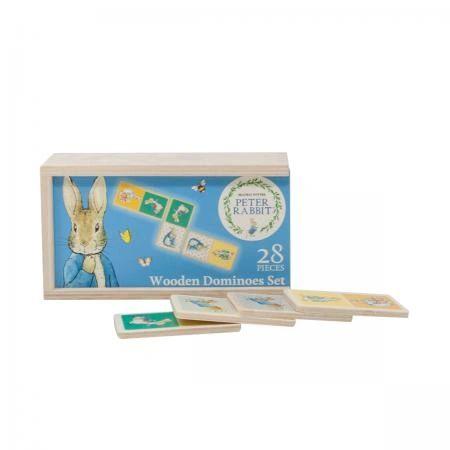 Peter Rabbit Wooden Dominoes Set