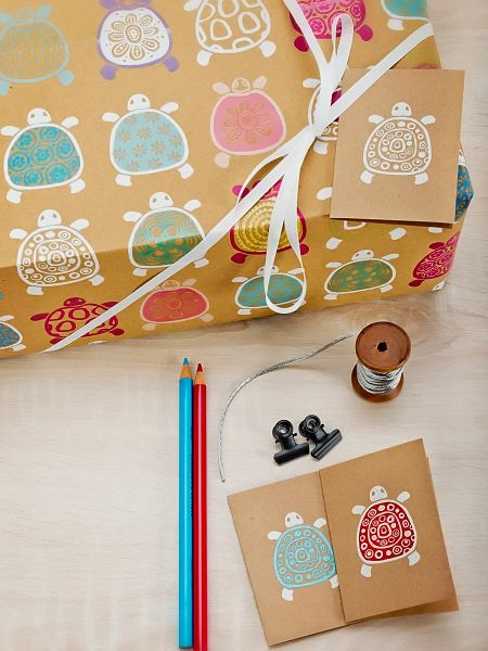 Turtles Gift Wrap