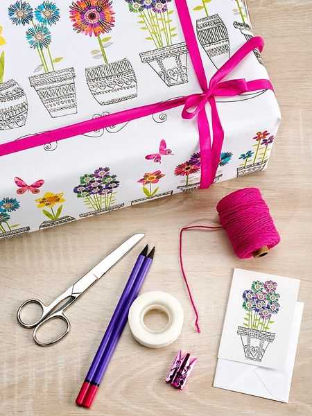Wrought Vases Gift Wrap