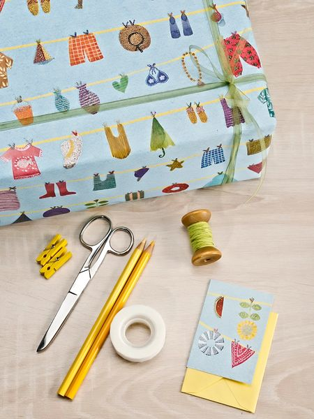 Summer Things Gift Wrap
