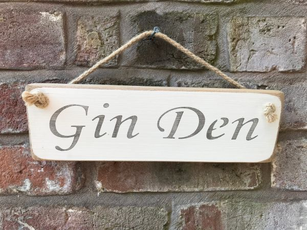 Gin Den Sign