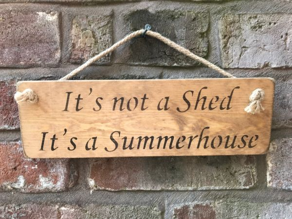 It's not a Shed It's a Summerhouse