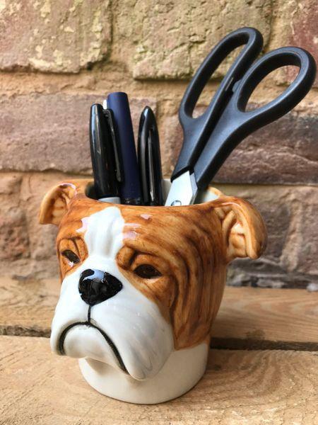 Bulldog Pen Pot by Quail