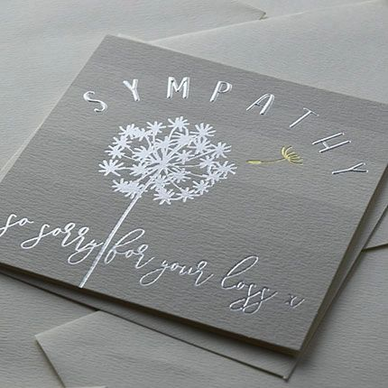 Sympathy - So Sorry For Your Loss Card