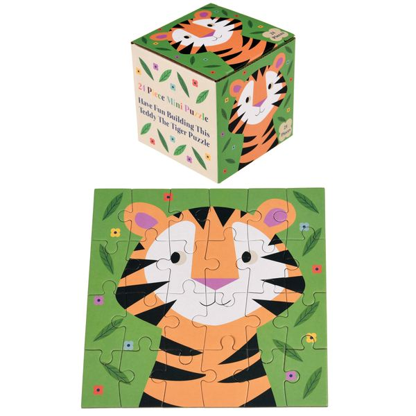 TEDDY THE TIGER 24 PIECE MINI PUZZLE