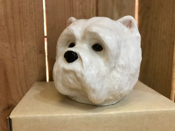 Westie Face Egg Cup by Quail