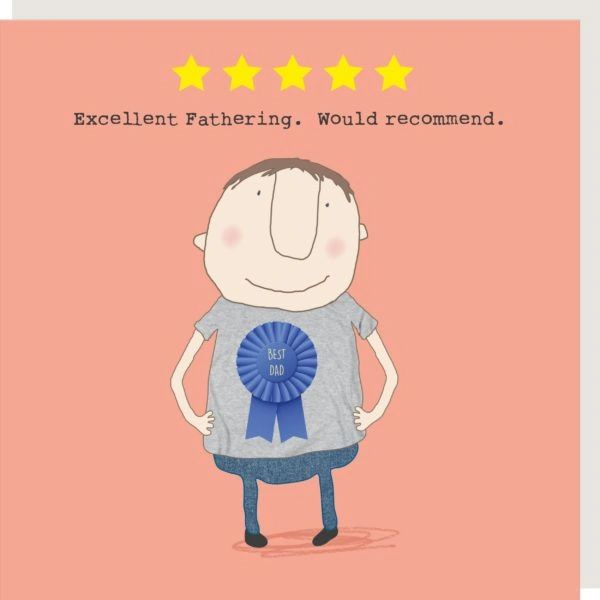 Five Star Dad Fathers Day Card GF259