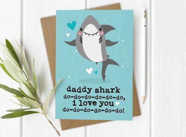 Daddy Shark Card shkc001