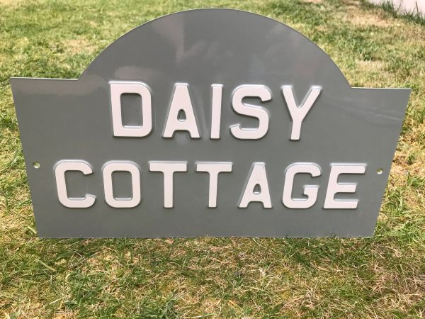 Create Your Own Sign - House Plaque