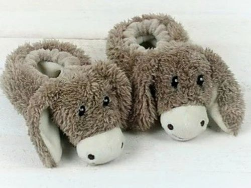 Donkey Baby Slippers Boxed