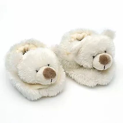 Bear Baby Slippers Boxed