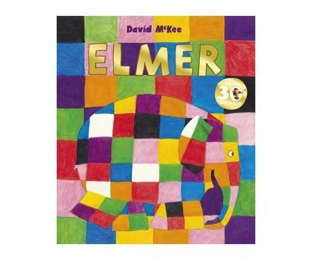 Elmer Paperback Book