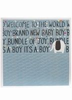 Brand New Baby Boy Card